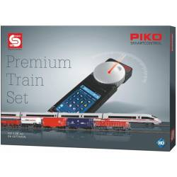 PIKO SmartControl Premium Train Set ICE3 + G1206 z dekoderem - Piko 59114