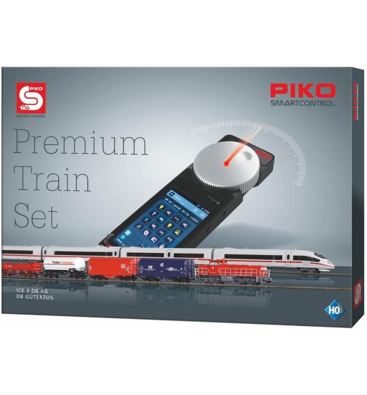 PIKO SmartControl Premium Train Set ICE3 + G1206 z dekoderem - Piko 59114