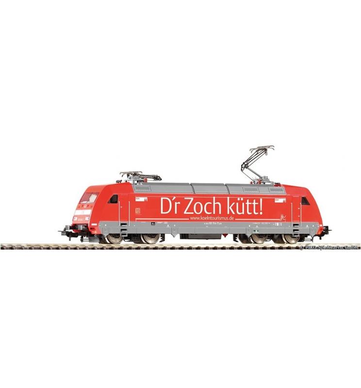 ~Elektrow. BR 101 Köln DB AG VI + lastg. Dec. - Piko 59255