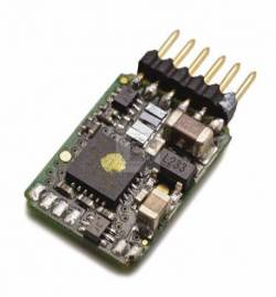Roco 10885 - Dekoder jazdy i oświetlenia 6-pin z wtykiem bezpośrednim