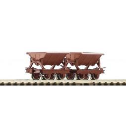Roco 34498 - Zestaw 2 wagonów koleb, H0e