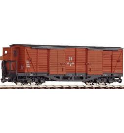 Roco 34529 - Wagon kryty, czteroosiowy, H0e