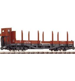 Roco 34530 - Wagon platforma, czteroosiowy, H0e