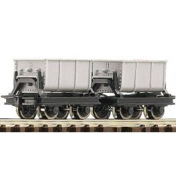 Roco 34601 - Zestaw 2 wagonów koleb do cementu, H0e