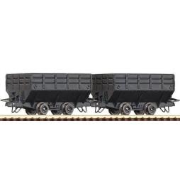 Roco 34606 - Zestaw 2 wagonów kopalnianych, H0e