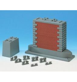 Roco 40082 - Zestaw filarów mostowych
