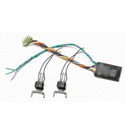Roco 40411 - Zestaw elektromagnetycznych sprzęgów cyfrowych z dekoderem DCC