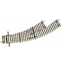Roco 42464 - Zwrotnica, rozjazd łukowa lewa BWL-2/3, H0, RocoLine