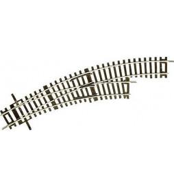 Roco 42465 - Zwrotnica, rozjazd łukowa prawa BWR-2/3, H0, RocoLine