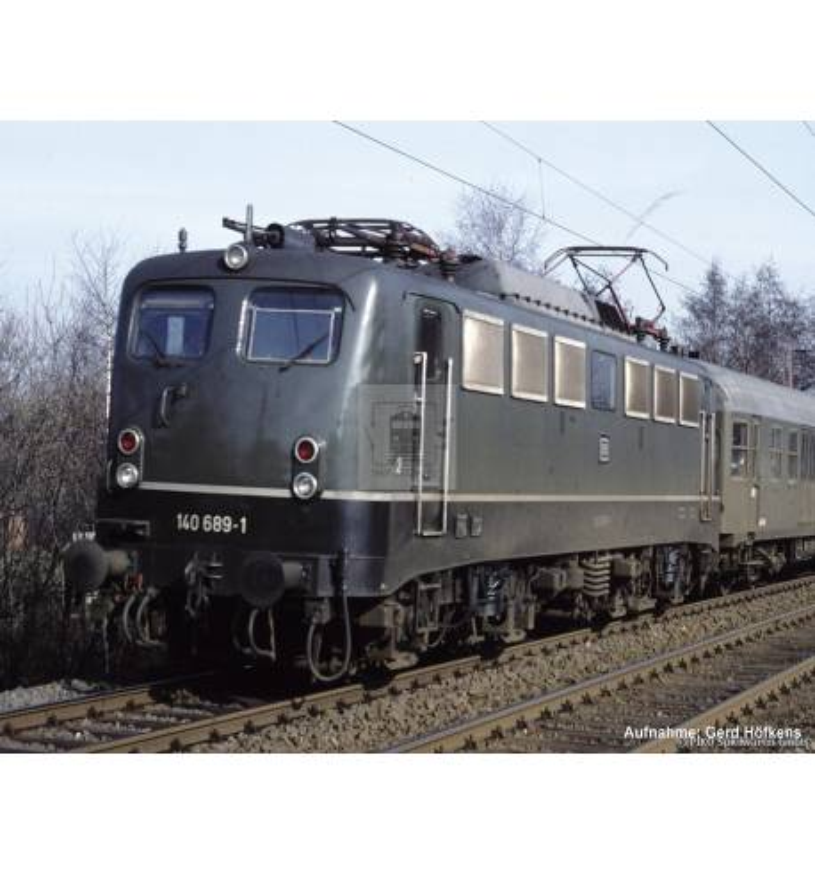 ~Elektrow. BR 140 DB IV + lastg. Dec. - Piko 51733