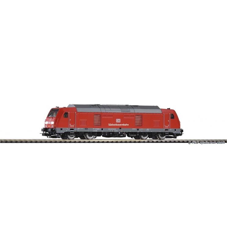 ~Spalinow. BR 245 DB AG Werbung VI + lastg. Dec. - Piko 52519