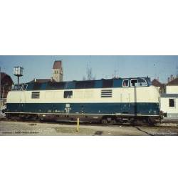 ~Spalinow. BR 221 DB IV, blau-beige + lastg. Dec. - Piko 52603
