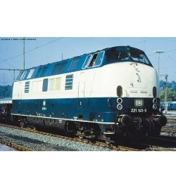 Spalinow. z dźwięk. BR 221 DB IV, blau-beige - Piko 52604