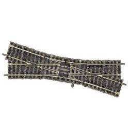 Fleischmann 6165 - Rozjazd podwójny krzyżowy, prawy 18° 200mm