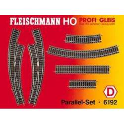 Fleischmann 6192 - Parallel-set D