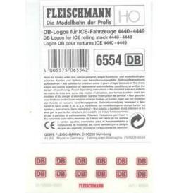 Fleischmann 6554 - DB logos for ICEs