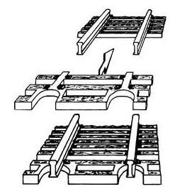 Fleischmann 22215 - Końcówki torów flex, skala N
