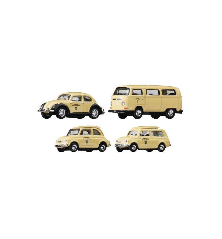Roco 05379 - Zestaw 4 samochodów pocztowych