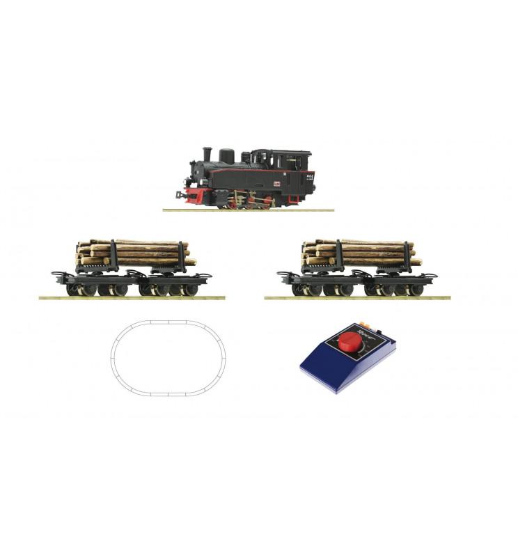 Roco 31030 - Zestaw startowy analogowy H0e