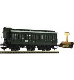 "Fleischmann 507001 - Fleischmann 507005 - 3-osiowy wagon typu ""Boczniak"" C3pr11 DB"