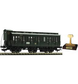 """Fleischmann 507001 - 3-osiowy wagon typu """"Boczniak"""" C3pr11 DB"""