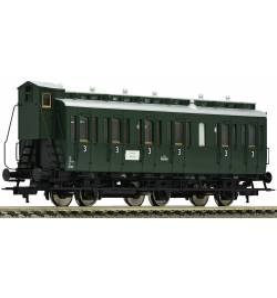"""Fleischmann 507003 - 3-osiowy wagon typu """"Boczniak"""" C3pr11 ÖBB"""