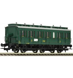 """Fleischmann 507055 - 3-osiowy wagon typu """"Boczniak"""" C3pr11CSD"""