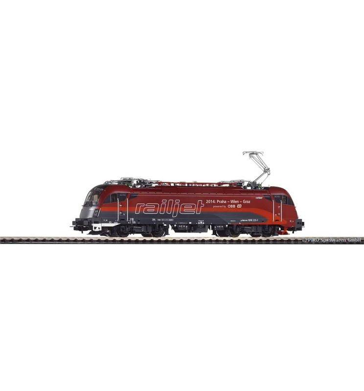 ~Elektrow. RH 1216 railjet VI + lastg.Dec. - Piko 59814