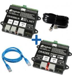 DR4088RB-CS_BOX - Kompletny 32-punktowy zestaw informacji zwrotnej dla Roco R-BUS: DR4088RB-CS, DR4088CS, DR60890 i DR60881