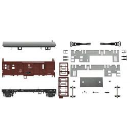 Roco 76680 - Wagon służbowy Ft PKP, Brankard ep. IIIc, zestaw do samodzielnego montażu