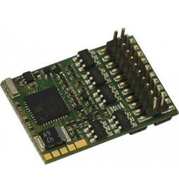 Roco 10896 - Dekoder jazdy i oświetlenia Plux22