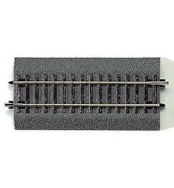 Roco 42511 - Tor prosty DG1 119mm na gumowym nasypie