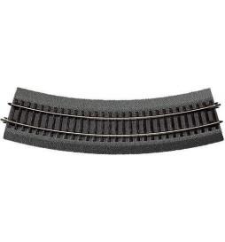 Roco 42523 - Tor łukowy R3 419.6mm na gumowym nasypie
