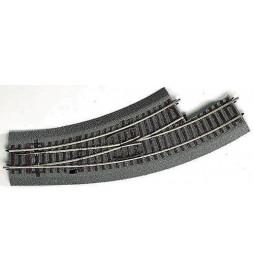 Roco 42558 - Rozjazd łukowy lewy BWL-2/3 na gumowym nasypie