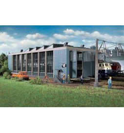 Vollmer 45765 - Lokomotywownia dwustanowiskowa z ruchomymi drzwiami