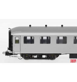 Exact-train EX10001 - Wagon pasażerski NS AB7523 oliwkowo-zielony, srebrny dach