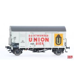 Exact-train EX20119 - Wagon towarowy DB Oppeln Dortmunder Union Bier(weiß) (Gleitlager) Nr. 504253 P