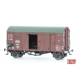 Exact-train EX20212 - Wagon towarowy DRG Oppeln GRS Güterwagen (einsetz in USSR(Weiss bufferhulzen)) (Gleitlager)