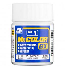 Mr.Hobby GX-1 - Farba Mr. Color, White