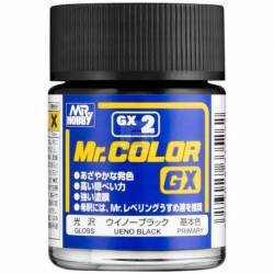 Mr.Hobby GX-2 - Farba Mr. Color, Black