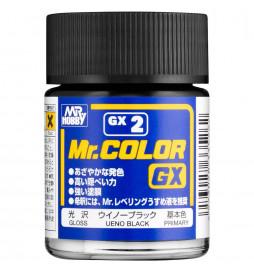Mr.Hobby GX-2 - Farba Mr. Color, Ueno Black