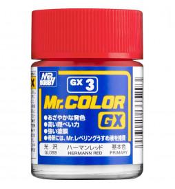 Mr.Hobby GX-3 - Farba Mr. Color, Red