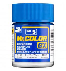 Mr.Hobby GX-5 - Farba Mr. Color, Blue