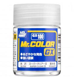 Mr.Hobby GX-100 - GX100 Farba Mr. Color, Super Clear III