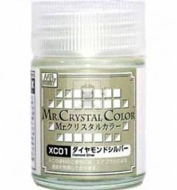 Mr.Hobby XC01 - Farba Mr. Color, Diamod Silver