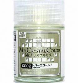 Mr.Hobby XC02 - Farba Mr. Color, Topaz Gold