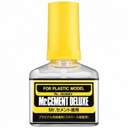 Mr.Hobby MC127 - MC-127 Mr.Cement Deluxe, klej modelarski 40ml