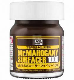 Mr.Hobby SF-290 - SF-290 Mr.Mahogany Surfacer 1000, szpachlówko podkład – mahoń