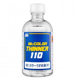 Mr.Hobby T-102 - T102 Mr.Color Thinner 110ml, rozcieńczalnik do farb C i szpachlówek
