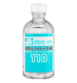 Mr.Hobby T-110 - T110 Mr.Aqueous Hobby Color Thinner 110ml, rozcieńczalnik do farb H